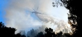 Incendio descontrolado amenaza condado californiano de Santa Bárbara