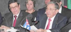 Raúl Castro llama a cerrar filas ante el cambio climático