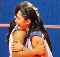 El representativo femenino de voleibol ganó en su debut en los CODICADER. Foto Diario Co Latino/INDES.