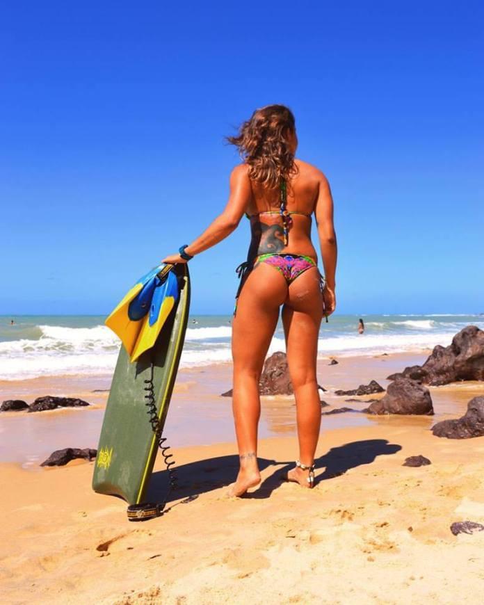 Bodyboarder Nathalia Pires