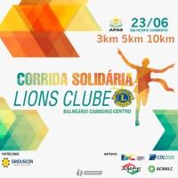 CORRIDA SOLIDARIA DO LIONS CLUBE