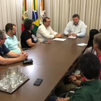 Águas de Camboriú participa de reunião entre Núcleo de Empresários e prefeito de Camboriú