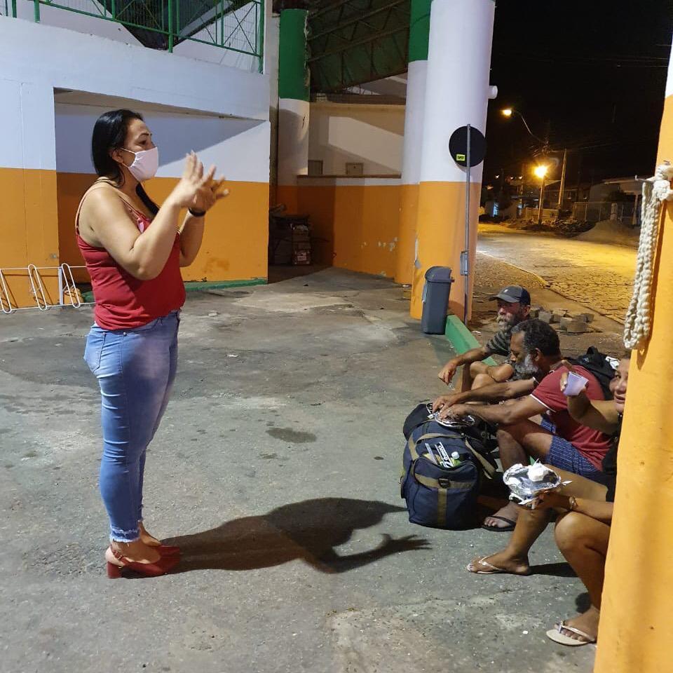 Prefeitura de Camboriú acolhe moradores de rua