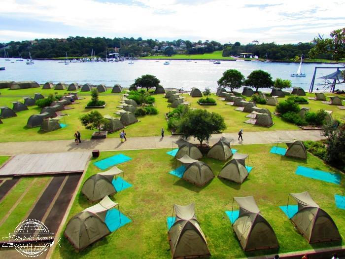 camping cockatoo island