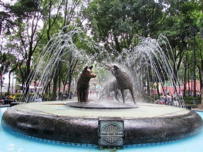 coyoacan fountain