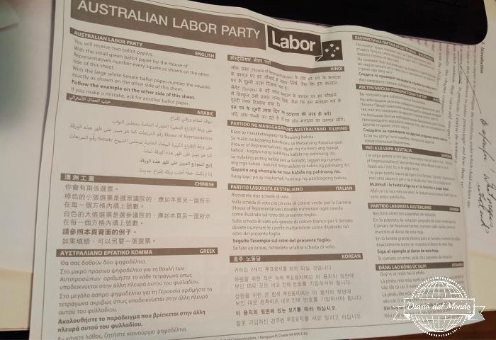Votare in Australia