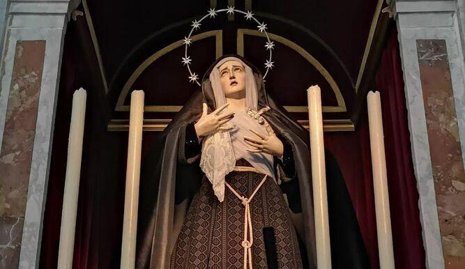 La Virgen del Mayor Dolor, de Buena Muerte