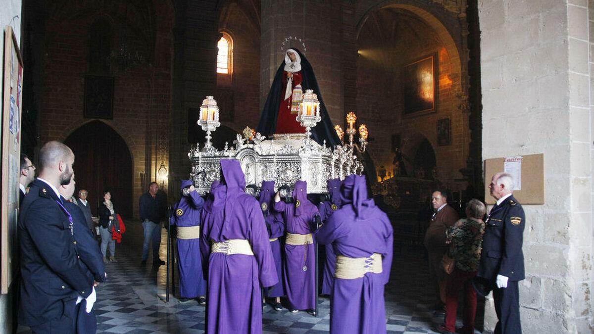 La Virgen de Dolor y Sacrificio, de El Puerto
