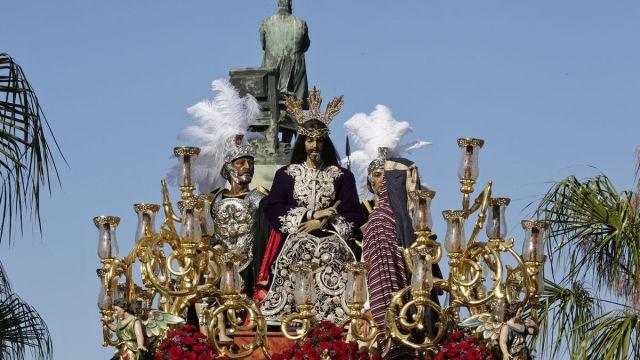 Jesús de la Salud, el titular de la hermandad de Cigarreras.