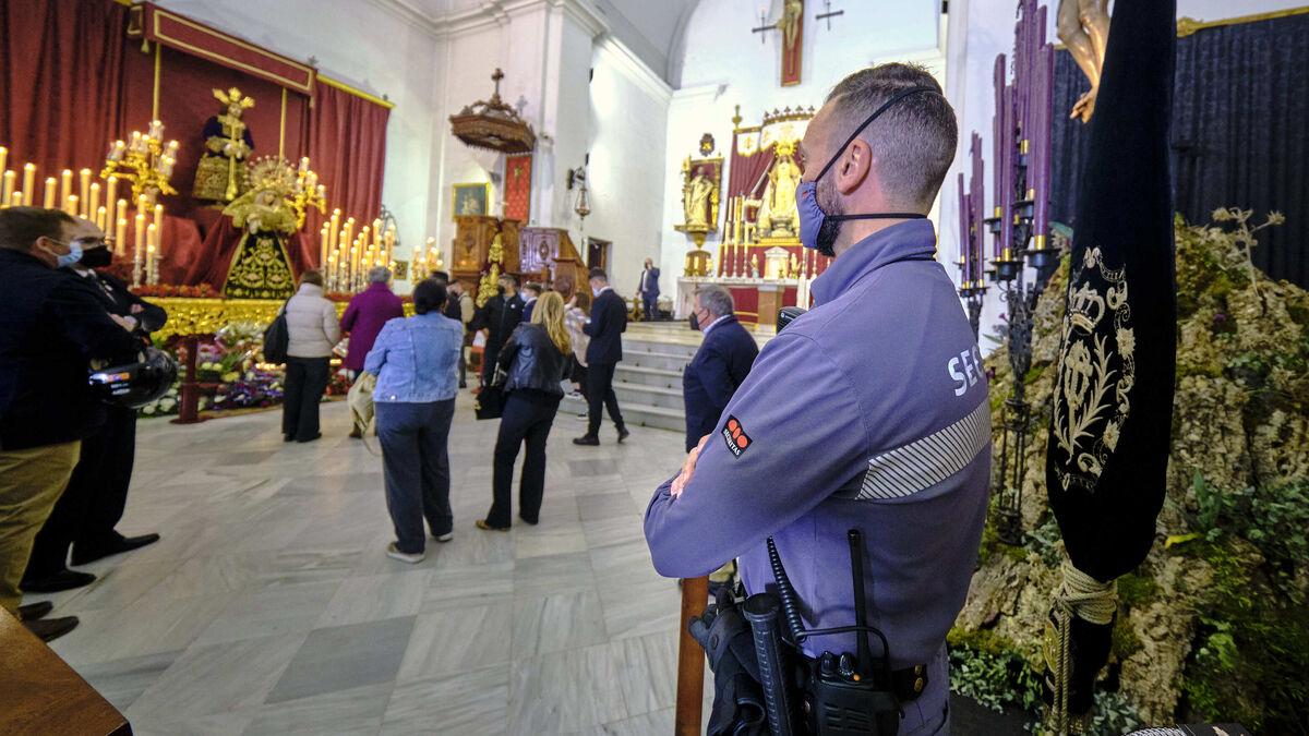 Cofradía de la Sentencia. Iglesia de La Merced.