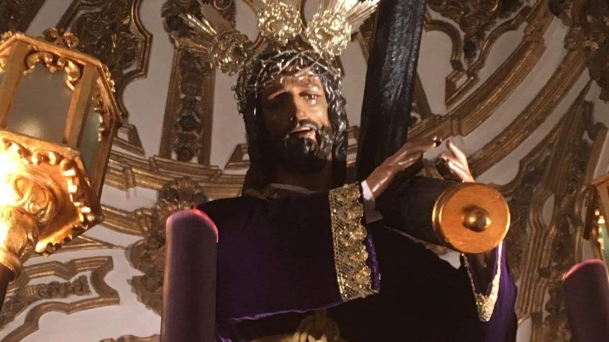 El Nazareno de la hermandad de Los Negros de Setenil.