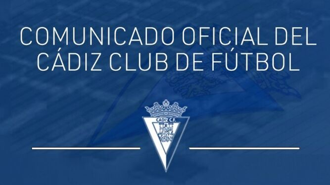 El Cádiz ha reaccionado a través de un comunicado.