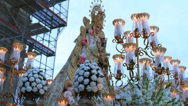 La Virgen del Rocío de la parroquia de San José.