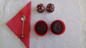 Muffins de chocolate y plátano para golosos