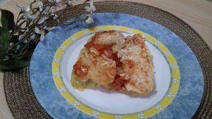 lasaña de patatas y verduras