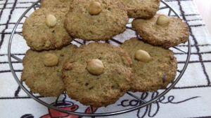 galletas de avena y avellanas