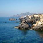 Panorámica del litoral murciano visto desde Cabo de Palos.