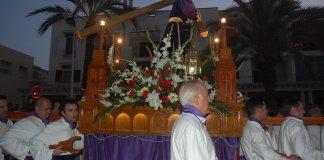 El Jesús Nazareno en la Procesión de Cabo de Palos.