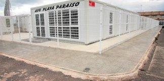 Ubicación provisional del futuro centro de salud de Playa Honda (imagen de archivo)