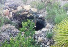 Imagen de uno de los pozos sin señalizar presente en las inmediaciones de Cala Reona.