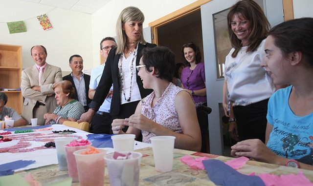 Consellera Bienestar Social Visita Callosa