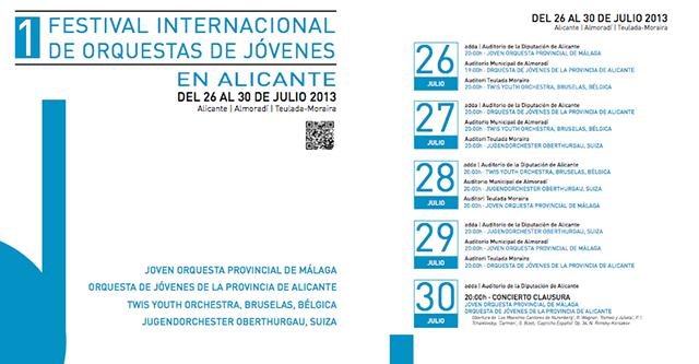 I Festival Internacional de Orquestas jovenes
