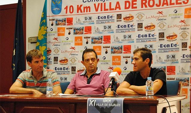 Presentacion 10km Rojales 140913