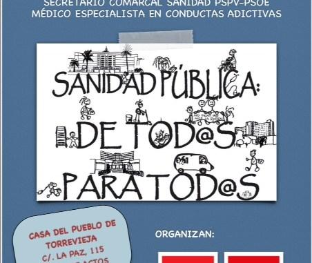 CARTEL QUE ESTA PASANDO EN SANIDAD CONFERENCIA 8.11.13