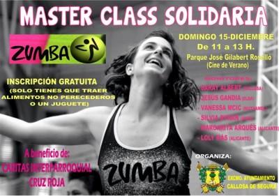 Masterclass Zumba Callosa 10dic2013