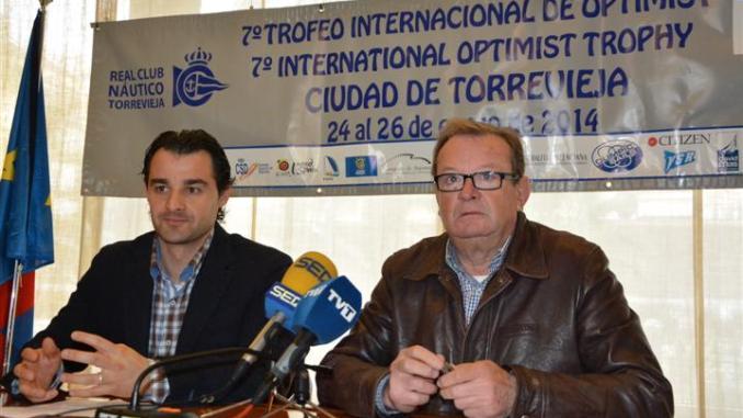 PRESENTADO EL VII TORNEO INTERNACIONAL DE VELA OPTIMIST CIUDAD DE TORREVIEJA