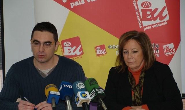 Rueda de prensa Marga Sanz y Víctor Ferrández
