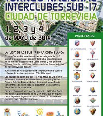 CARTEL TORNEO NACIONAL INTERCLUBES SUB 17
