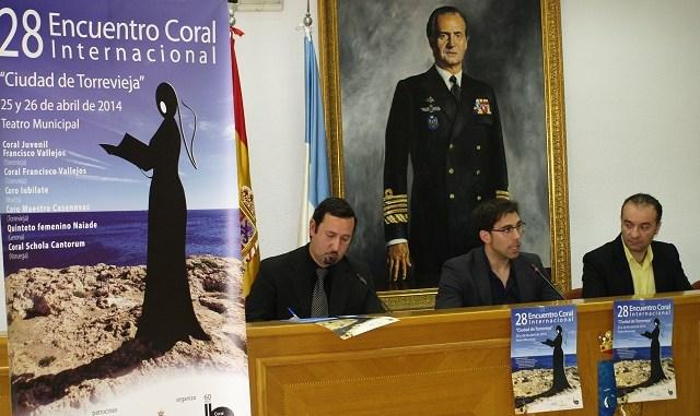 Presentación 28 encuentro coral de Torrevieja