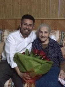 La rafaleña Manuela Mora cumple 102 años