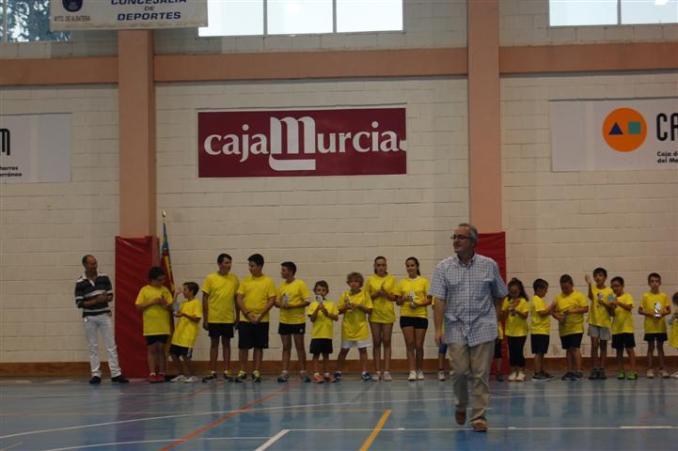 ALBATERA Momento de la gala concejal de deportes