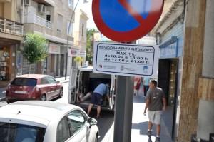 Prohibido aparcar en Ramón Gallud a partir del próximo lunes