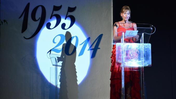 Carolina Casado presentando el LX Certamen de Habaneras