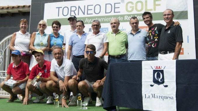 torneo gol Ayto Rojales foto familia