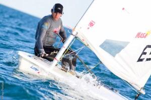 Cara y cruz para Rogel en la segunda jornada del mundial de clases olímpicas en Santander