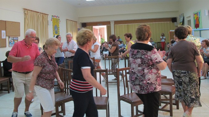 fiesta para mayores