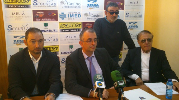 dimisión junta directiva Orihuela CF