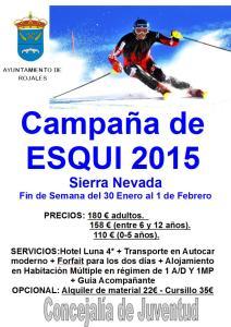 La concejalía de Juventud y Deportes de Rojales organiza su viaje a la nieve