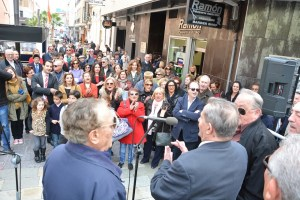 Ramón Céspedes cuenta con una calle en honor a su alegría