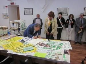 Pro-Río cede al Archivo Histórico de Orihuela más de 30.000 documentos sobre su lucha por la limpieza del Segura