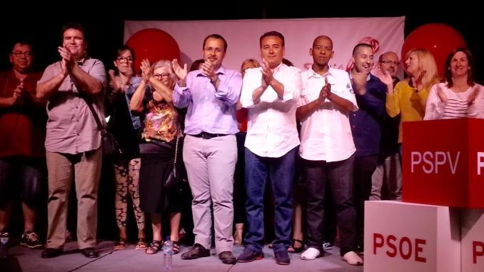 Mitin PSOE 21may15