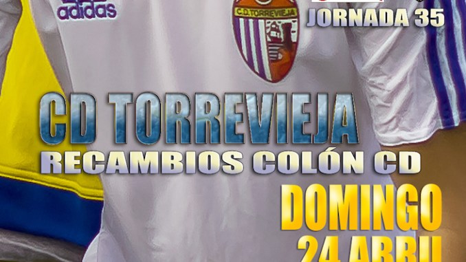 Cartel Torrevieja - Recambios Colon