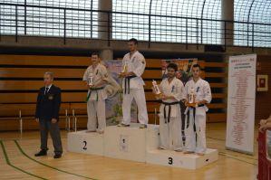 El torrevejense Eneko Delgado, bronce en la Copa de Valencia de Karate