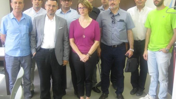 16.07.13 Alcaldes Vega Baja consellera