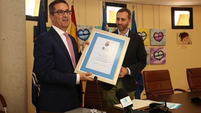 Sánchez felicita a Butrón