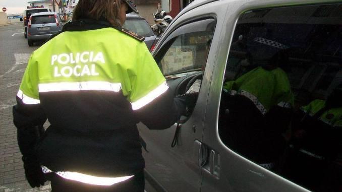 control alcoholemia policia local